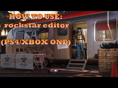 how to use rockstar editor on console (PS4 / XBOX ONE) tutorial