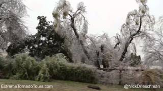 MAJOR Oklahoma Ice Storm! November 27-28, 2015