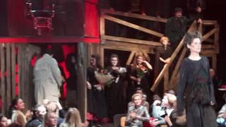 Премьера мюзикла Суини Тодд в Театре на Таганке, 29.01.2017, поклоны