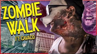 CRAMUNHÃO BORRACHUDO NASCEU DE MIM NO ZOMBIE WALK SP 👺 thumbnail