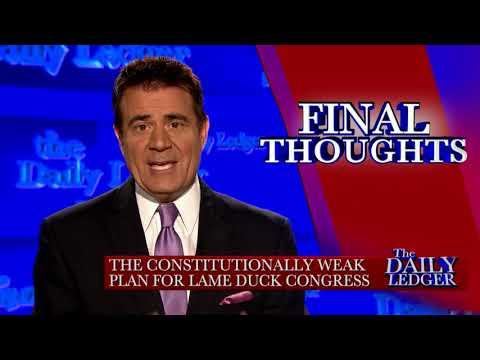 Final Thoughts: The Lame Duck Congress