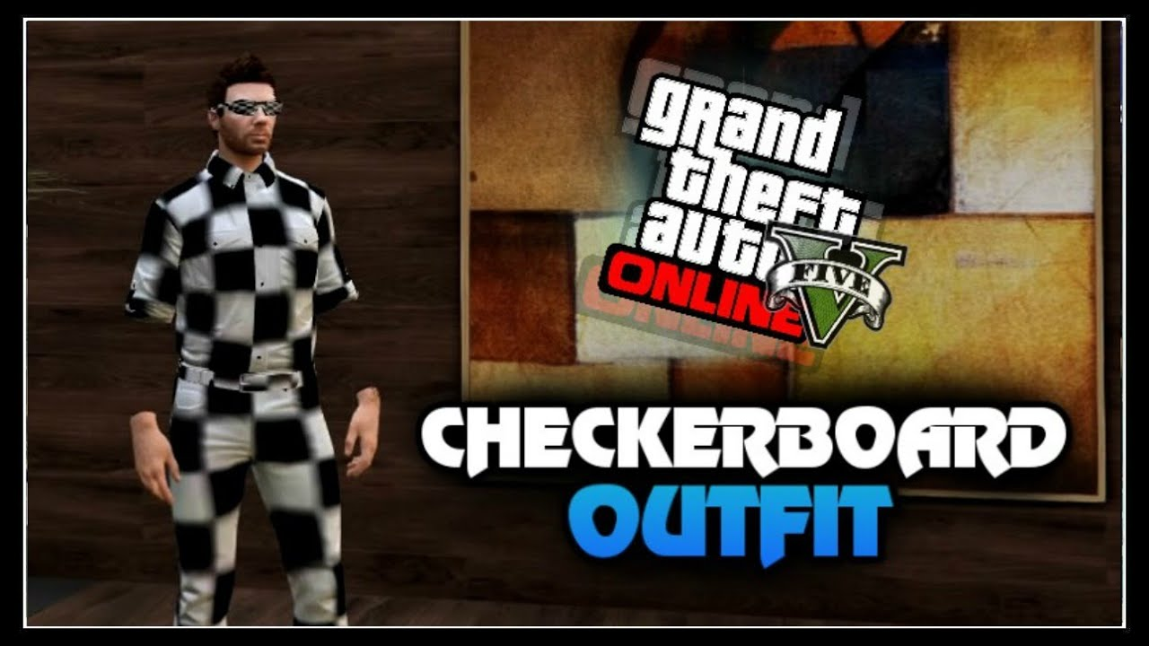 GTA 5 Online - How to get u0026#39;CHECKERBOARD OUTFIT GLITCH!u0026#39; *After Patch 1.31* PS4 Only - YouTube