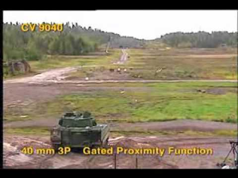 deadly cv9040 programmable ammo of bofors 40mm L70 canon