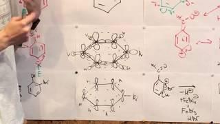 Индуктивный и Мезомерный эффекты? Заместители I и II рода Бензольного Кольца. Часть 1