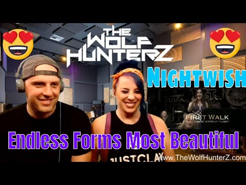 Nightwish - Endless Forms Most Beautiful (LYRIC VIDEO) THE WOLF HUNTERZ Reactions