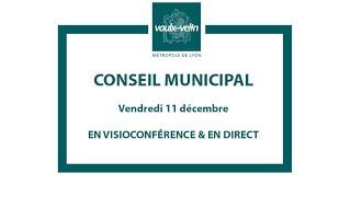 Conseil municipal<br/>11 décembre 2020