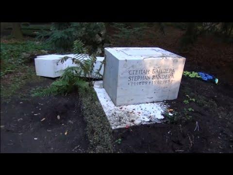 Zbezcześcili grób Stepana Bandery w Monachium