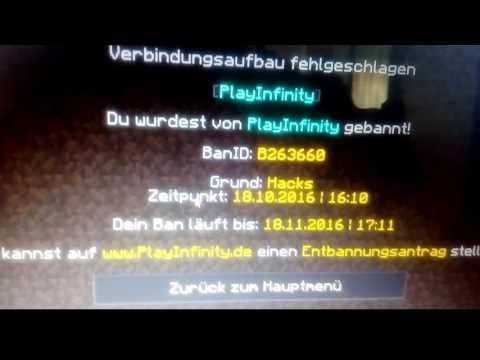 KOSTENLOS VON JEDEM SERVER ENTBANNT WERDEN - Minecraft server spieler entbannen