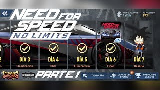 Need For Speed No Limits Android Koenigsegg Agera RS (2016) Dia 7 Desafio Parte 1