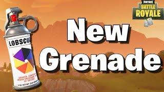 New Smoke Grenade! (Fortnite Battle Royale Patch 1.9.1)