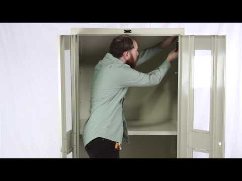 Hallowell Storage Cabinet Assembly Guide