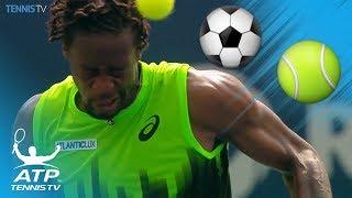 ATP Tennis Players Show Off Their Football Skills!