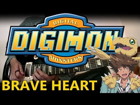 Digimon - Brave Heart~ tri.Version~ (Guitar Instrumental)