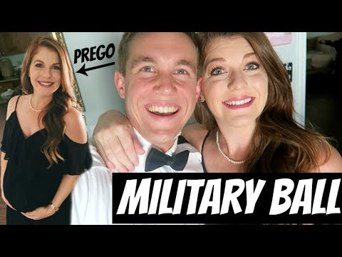 Military Ball Pregnant! Two weeks from giving Birth!