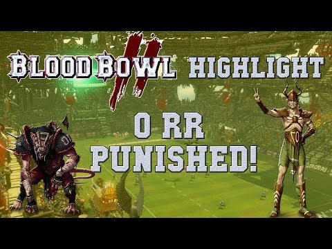 Lets hope that zero reroll choice gets punished! Blood Bowl 2 highlight (the Sage vs Enarion)