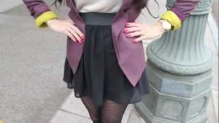 Thanksgiving Outfit Ideas + Winter Tights