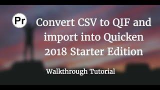 Txt To Qif Converter - secretlinoa