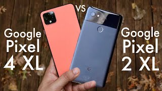 Google Pixel 4 XL Vs Google Pixel 2 XL! (Comparison) (Review)
