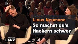 IT-Experte Linus Neumann über sichere Passwörter - Markus Lanz vom 08.01.19 | ZDF
