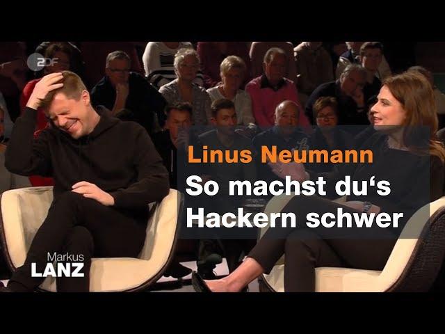 IT-Experte Linus Neumann über sichere Passwörter - Markus Lanz vom 08.01.19   ZDF