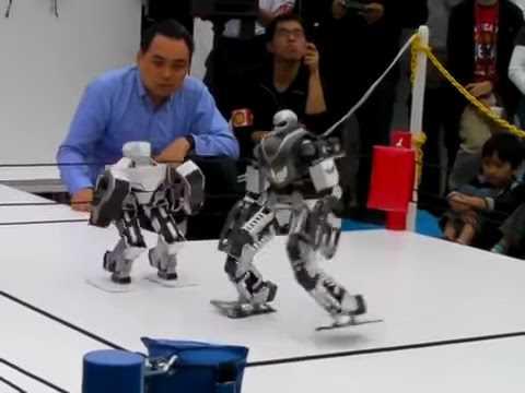 Fighting Robots Like REAL STEEL