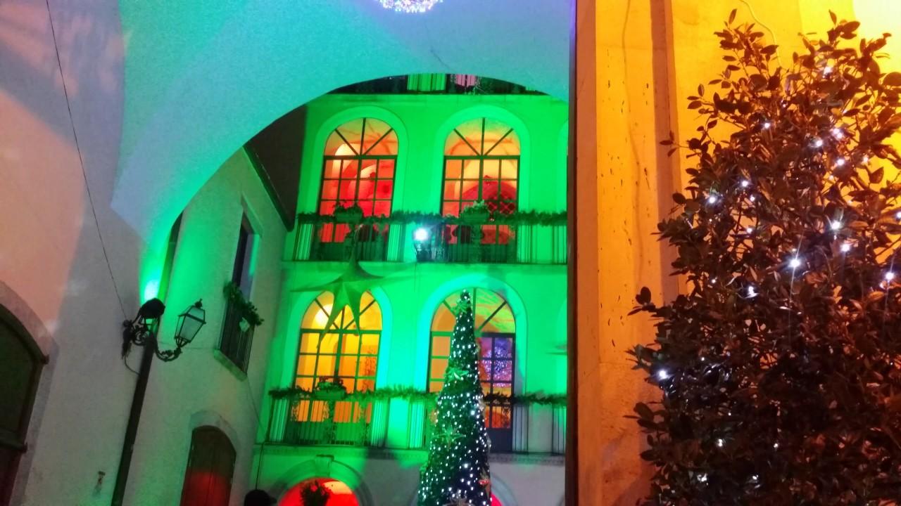 Casa Di Babbo Natale Candela.Casa Di Babbo Natale A Candela 4 12 2016 Sant Nicolas Youtube