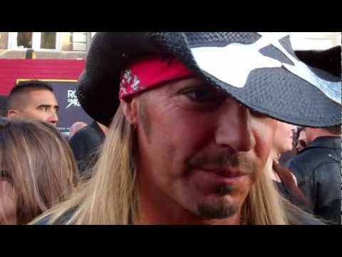 "Bret Michaels at the ""Rock of Ages"" premiere"