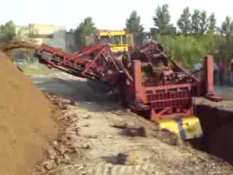 Роторный траншейный экскаватор ЭТР-254А