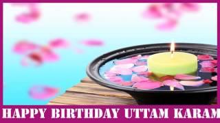 UttamKaram   Birthday Spa - Happy Birthday