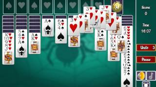 Game Spider Solitaire 2 Suits
