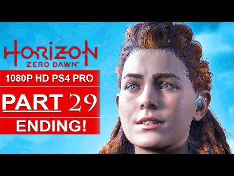 HORIZON ZERO DAWN ENDING Gameplay Walkthrough Part 29 [1080p HD PS4 PRO] - No Commentary