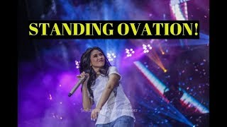 STANDING OVATION! Sarah Geronimo SLAYS I Don't Wanna Miss A Thing by Aerosmith