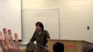 Gary Francione at Brock U. Part 1/5