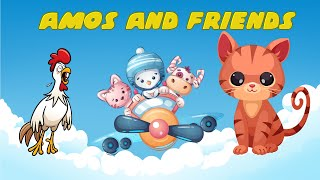 Amos and friends | learn animals for children - Names and sounds #2