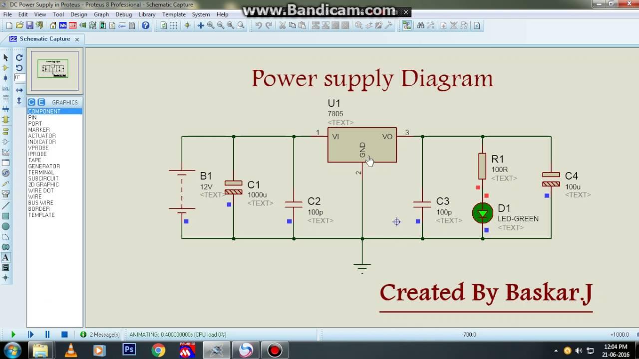 Power supply Diagram  YouTube