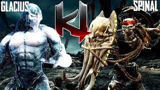 Killer Instinct Classic Glacius Gameplay - Online Match 11