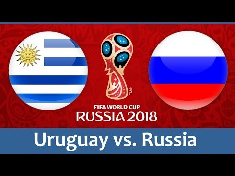 Uruguay VS Russia [3-0] - 2018 FIFA World Cup | 2018 June 25- FIFA World Cup Gameplay