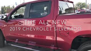 Walk around of the all new 2019 Chevrolet Silverado! At Merced Chevrolet