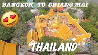 BANGKOK to CHIANG MAI | VIA 12 HOUR SLEEPY TRAIN | (thailand)