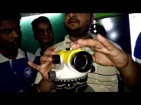 Land Surveyor Course Training Auto Level Training Rashtriya Technical Institute