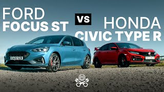 2021 Honda Civic Type R vs. Ford Focus ST | PistonHeads