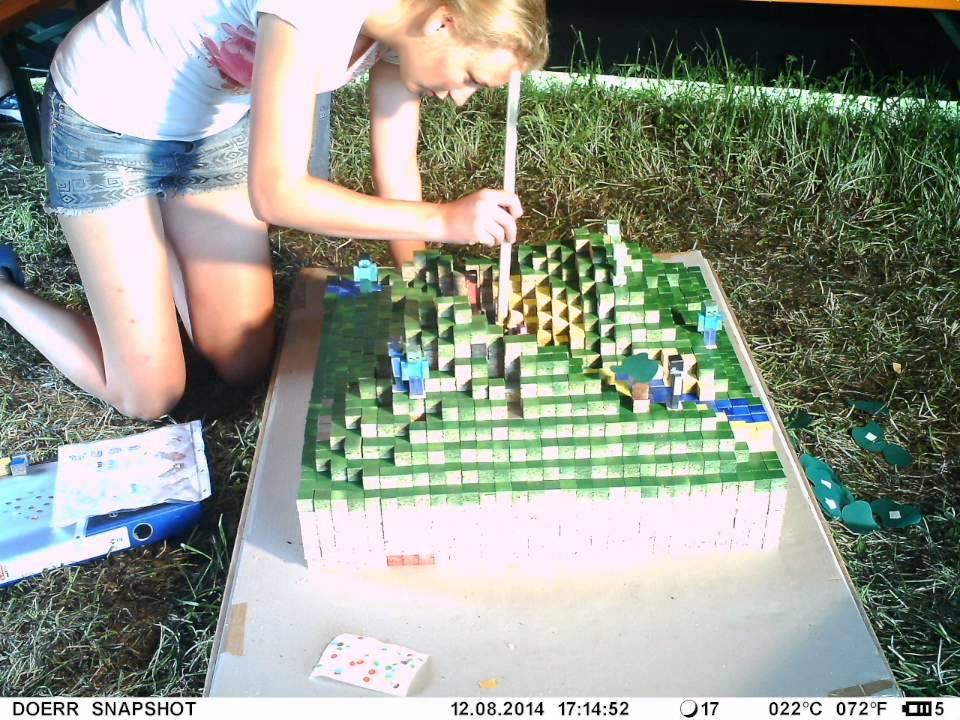 minecraft brettspiel