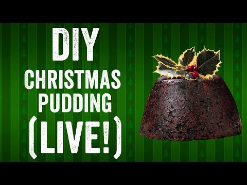 DIY Christmas pudding recipe (live stream!)