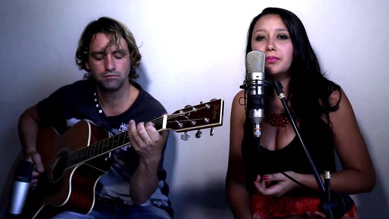 Adele Set Fire To The Rain Acoustic Cover