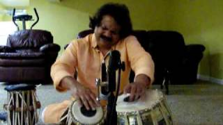 Pradip Ghosh - Solo Tabla Lesson - Keherwa Taal