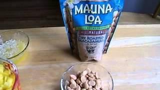 Ingredients For Hawaiian Mango Bread.m4v