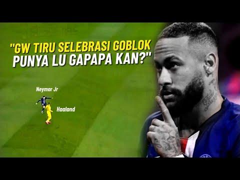 EJEK HAALAND 💔 Lihat Gaya Neymar Jr Saat Tiru Selebrasi Haaland Usai Cetak Gol Ke Gawang Dortmund