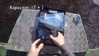 ZORAKI 917 9mm P.A. KNALL Startno - Plinski Pištolj / Blank - Gas Pistol
