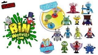 Bin Weevils Bin Bot Blind Bags Review Opening