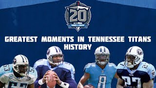 The Greatest Moments in Tennessee Titans History
